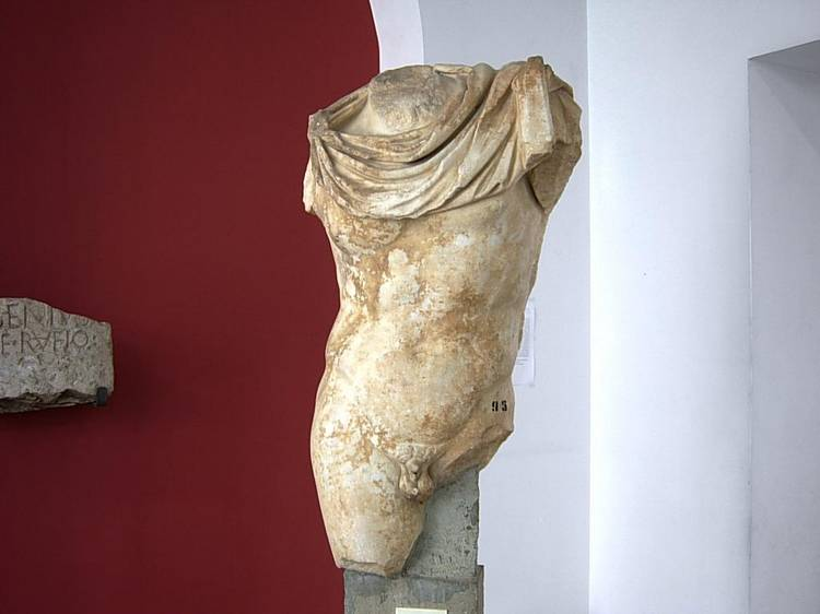 TORSO DI APOLLO DALLE TERME (REPLICA DI ORIGINALE GRECO)